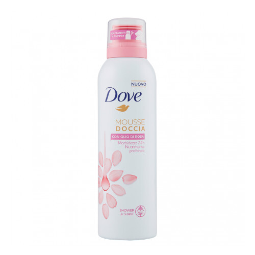 Dove Sprchová pěna s růžovým olejem (Shower Mousse) 200 ml