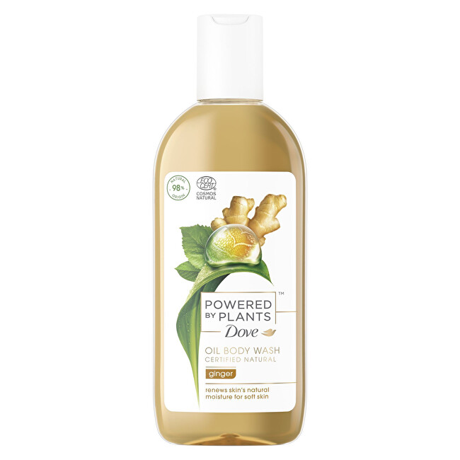 Dove Sprchový gel Zázvor Powered by Plants Ginger Oil Body Wash 250 ml