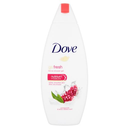 Dove Vyživující sprchový gel s vůní granátového jablka a citronové verbeny Go Fresh (Revive Shower Gel) 250 ml