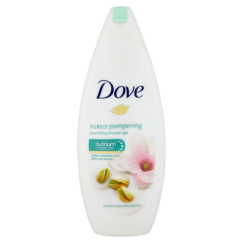 Dove Vyživující sprchový gel s vůní pistácie a magnólie Purely Pampering (Nourishing Shower Gel) 250 ml