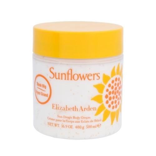 Elizabeth Arden Tělový krém Sunflowers (Body Cream) 500 ml