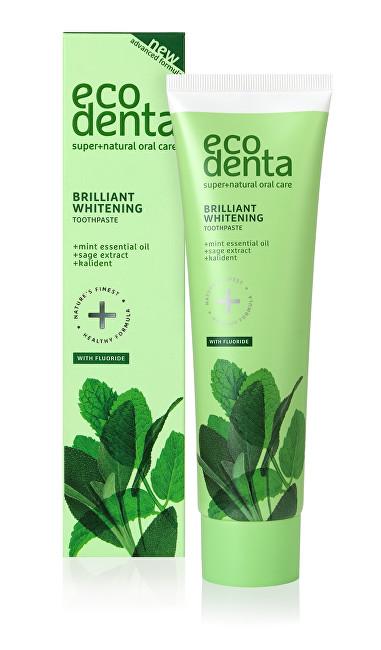 Ecodenta Bělicí zubní pasta s mátovým olejem, šalvějí a Kalidentem (Whitening Toothpaste) 100 ml