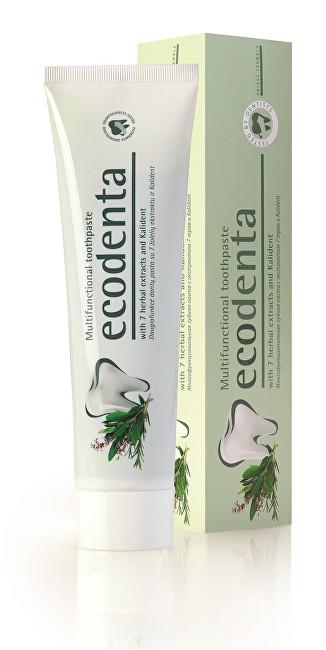 Ecodenta Multifunkční zubní pasta s výtažky ze 7 bylin a Kalidentem (Multifunctional Toothpaste) 100 ml