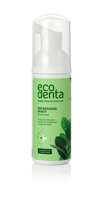 Ecodenta Pěnová ústní voda Refreshing Minty (Oral Care Foam) 50 ml