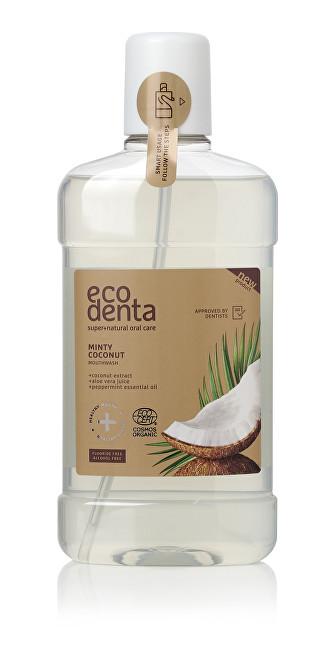 Ecodenta Ústní voda s kokosovým výtažkem Cosmos Organic (Minty Coconut Mouthwash) 500 ml