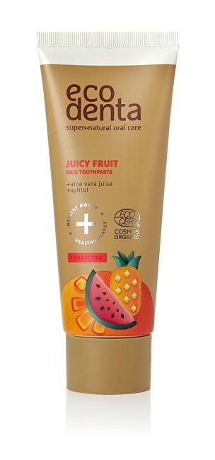 Ecodenta Cosmos Organic Juicy Fruit pasta s příchutí šťavnatého ovoce 75 ml