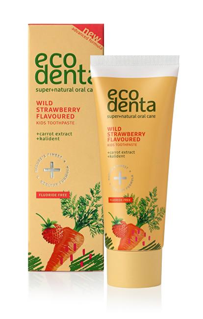 Ecodenta Zubní pasta s jahodovou příchutí pro děti (Wild Strawberry Scented Toothpaste For Children) 75 ml
