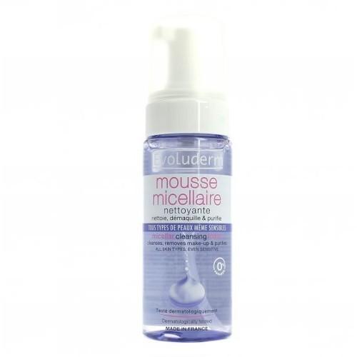 Evoluderm Čisticí odličovací pěna (Micellar Cleansing Foam) 150 ml
