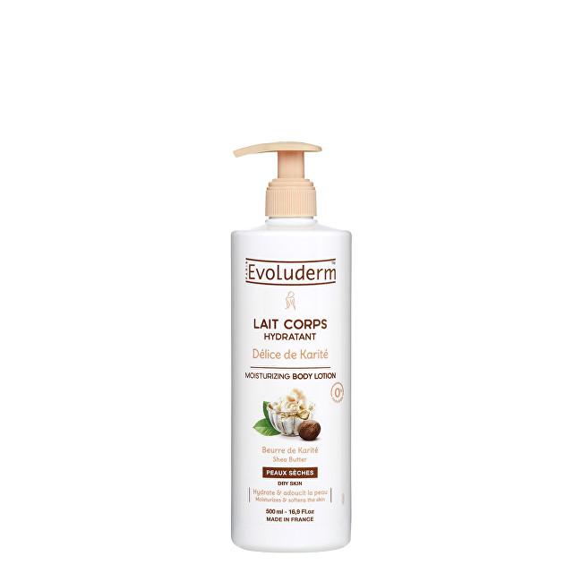 Evoluderm Hydratační tělové mléko s bambuckým máslem (Moisturizing Body Lotion) 500 ml