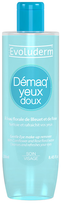 Evoluderm Intenzivně osvěžující odličovač očí a make-upu (Eye Make Up Remover) 250 ml