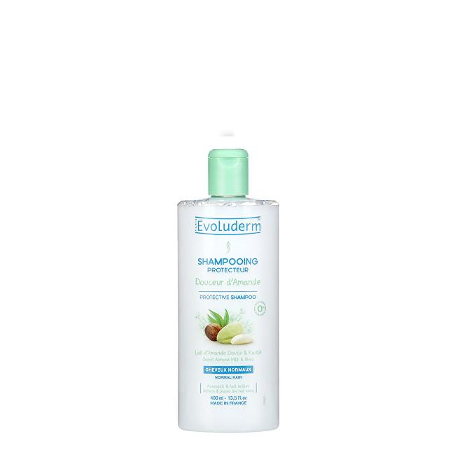 Evoluderm Ochranný šampon pro normální vlasy s mandlovým mlékem (Protective Shampoo Doucer d`Amande) 400 ml