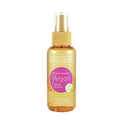Evoluderm Zkrášlující olej na pleť a vlasy s arganovým olejem (Argan Oil) 100 ml
