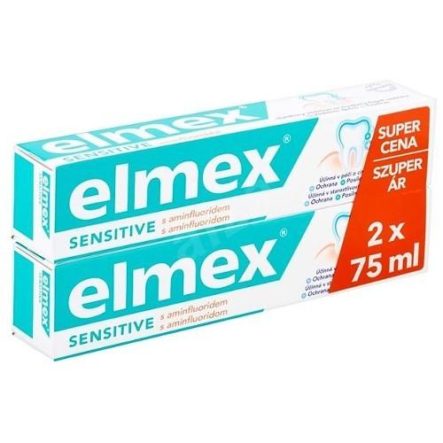 Elmex Zubní pasta pro citlivé zuby Sensitive Duopack 2 x 75 ml