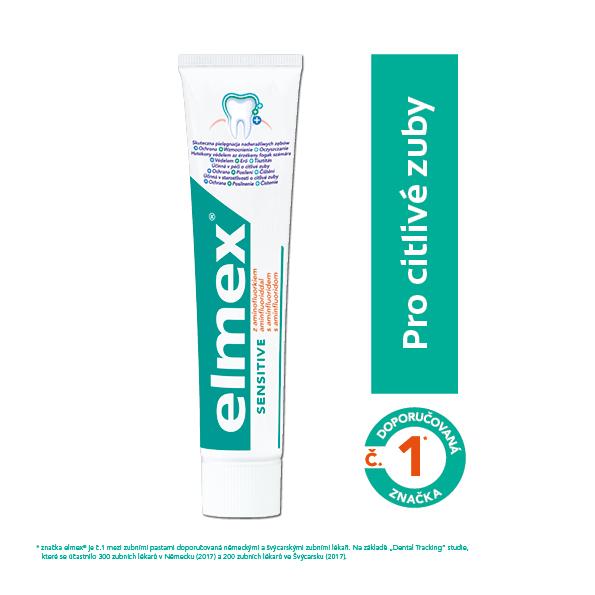 Elmex Zubní pasta Sensitive pro citlivé zuby 75 ml