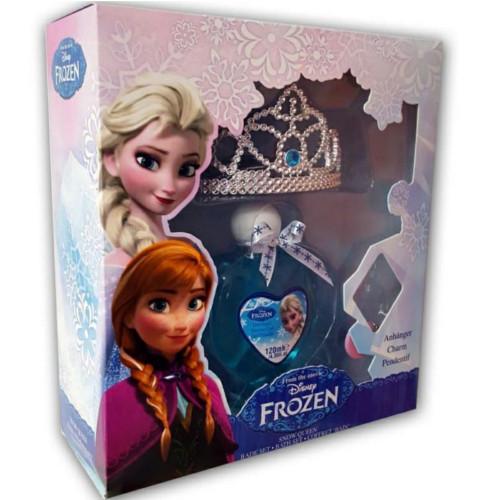 EP Line Darčeková sada Frozen (Sprchový gel 120 ml + korunka + přívěšek)