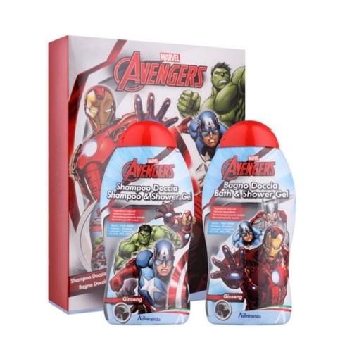 Admiranda Avengers šampon 300 ml + sprchový gel 300 ml dárková sada