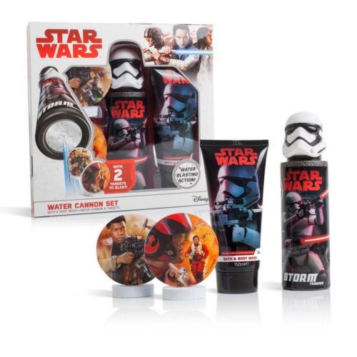 EP Line Dárková sada Star Wars (Sprchový gel 150 ml + vodní pistole + terč)