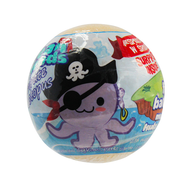 EP Line pěna do koupele s figurkou Ocean friends pirate 140 g