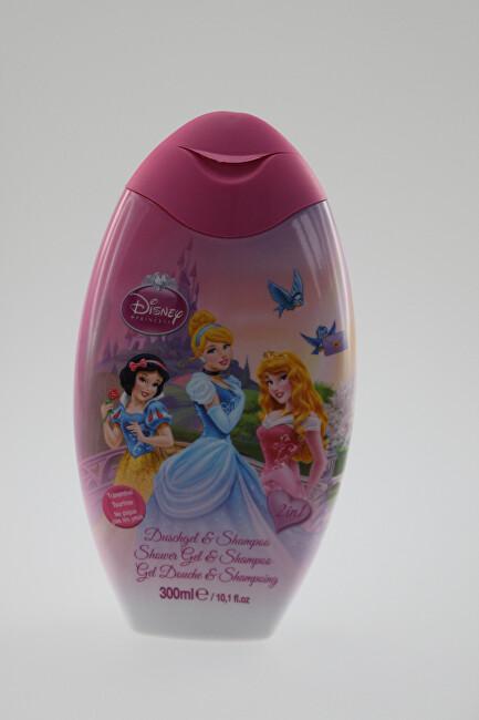 EP Line Šampon a sprchový gel 2v1 pro děti Princess 300 ml