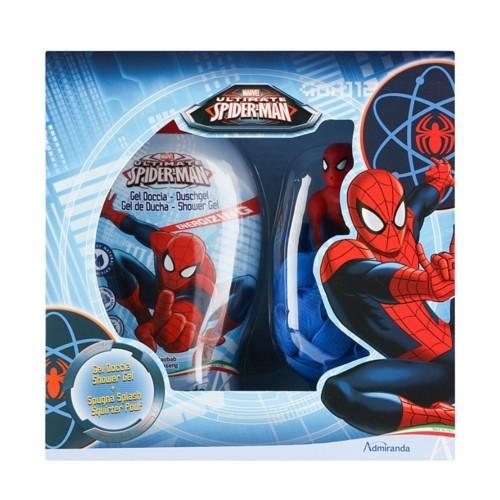 EP Line Spiderman sprchový gel 250 ml + houbička dárková sada