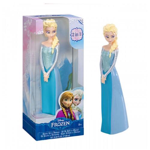 EP Line Sprchový gel a šampon 2 v 1 Frozen 3D Elsa 600 ml