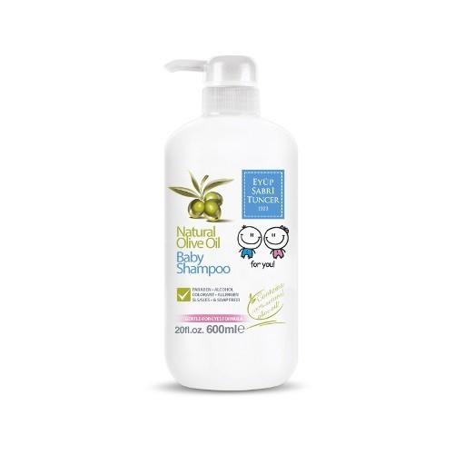 EST 1923 Dětský šampon na vlasy a tělo se 100 % přírodním olivovým olejem 600 ml