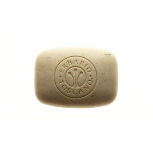 Erbario Toscano Exfoliační BIO mýdlo s hroznovým a mandlovým olejem Hrozen (Soap) 140 g