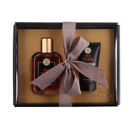 Erbario Toscano Luxusný darčekový set pre mužov Čierne korenie
