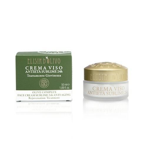 Erbario Toscano Omlazující a rozjasňující krém proti stárnutí pleti Oliva (Face Cream Sublime 24h Anti-Aging) 50 ml