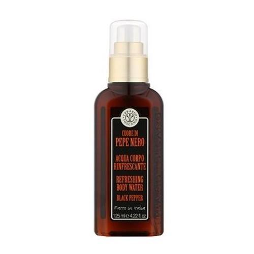 Erbario Toscano Osviežujúca parfumovaná telová voda pre mužov Čierne korenie (Refreshing Body Water) 125 ml