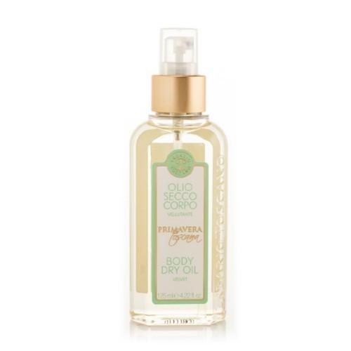 Erbario Toscano Suchý tělový olej pro výživu pokožky Toskánské jaro (Body Dry Oil) 125 ml