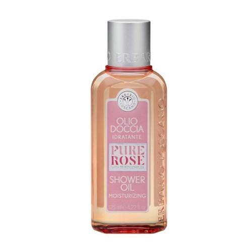 Erbario Toscano Vyživující sprchový olej Růže (Shower Oil) 125 ml