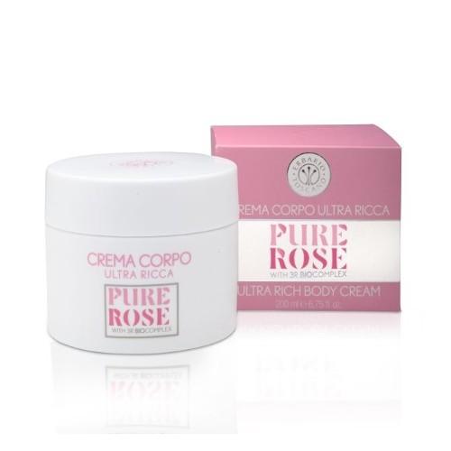 Erbario Toscano Vyživující tělový krém Růže (Ultra Rich Body Cream) 200 ml