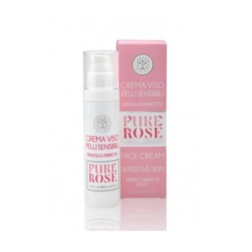 Erbario Toscano Zklidňující pleťový krém Růže (Face Cream) 50 ml