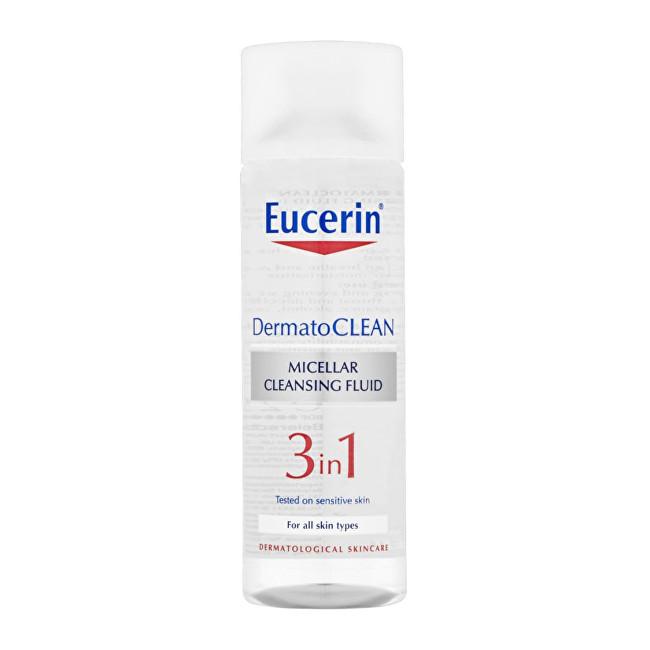 Eucerin Čisticí micelární voda 3v1 DermatoCLEAN (Micellar Cleansing Fluid) 400 ml