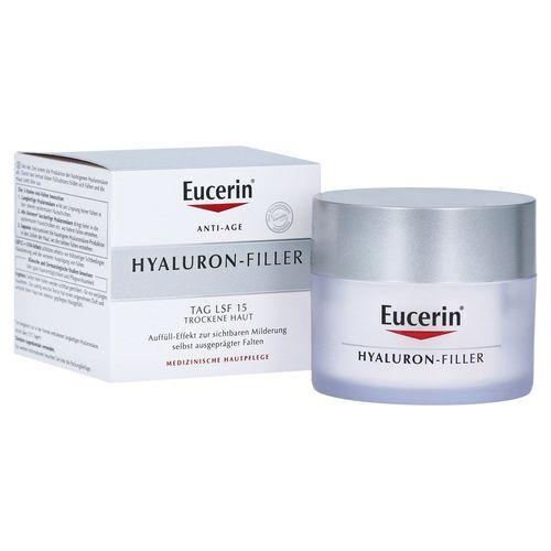 Eucerin Intenzívny vypĺňajúci denný krém proti vráskam pre suchú pleť SPF 15 Hyaluron-Filler 50 ml