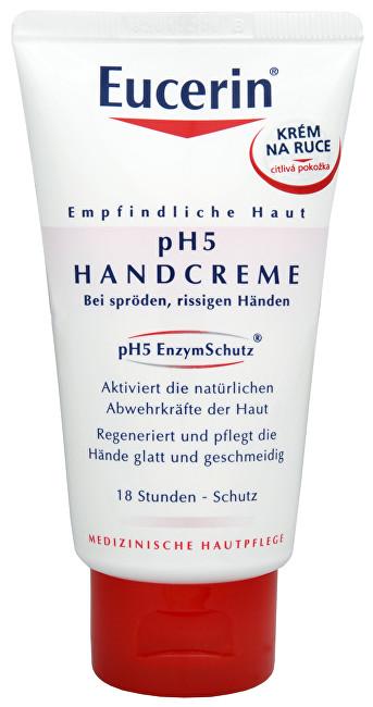 Eucerin Regenerační krém na ruce pro citlivou pokožku pH5 75 ml