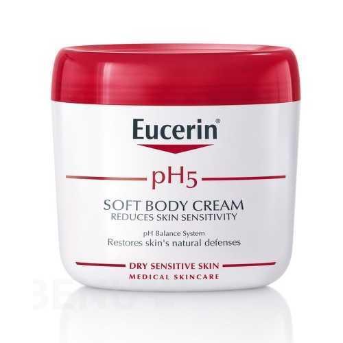 Eucerin Hydratační krém na obličej a tělo pro citlivou pokožku pH5 75 ml