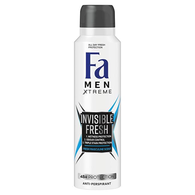 Fa Antiperspirant Men Xtreme Invisible Fresh 48H Protection (Anti-perspirant) 150 ml