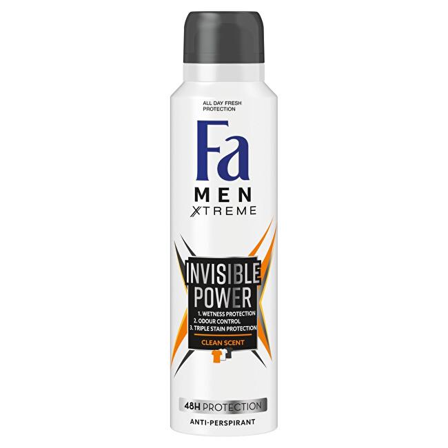 Fa Antiperspirant ve spreji Men Xtreme Invisible Power (Anti-perspirant) 150 ml
