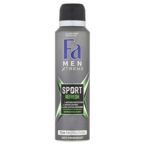 Fa Antiperspirant ve spreji Men Xtreme Sport Refresh (Anti-Perspirant) 150 ml