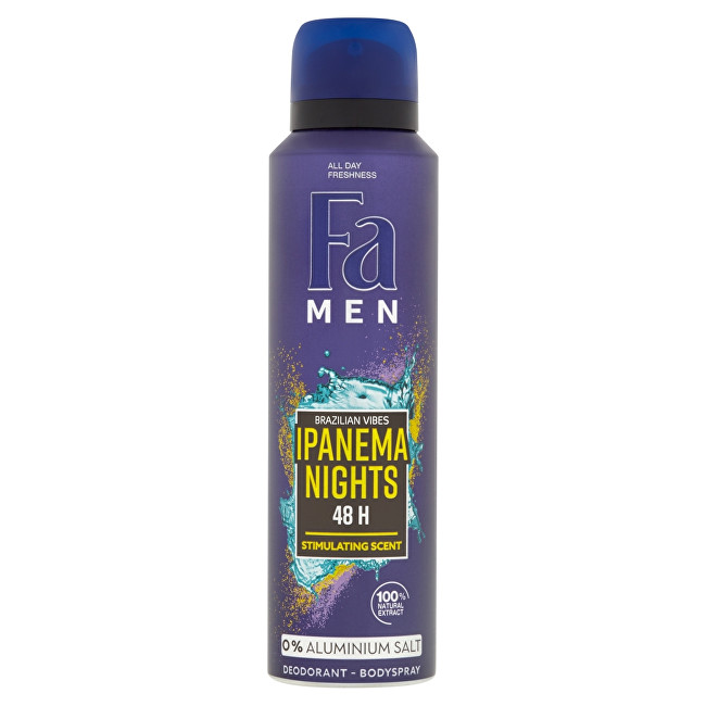 Fa Antiperspirant spray pentru bărbați Ipanema Nighs 150 ml