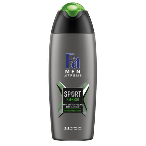 Fa Sprchový gel Men Xtreme Sport Refresh (3in1 Shower Gel) 400 ml