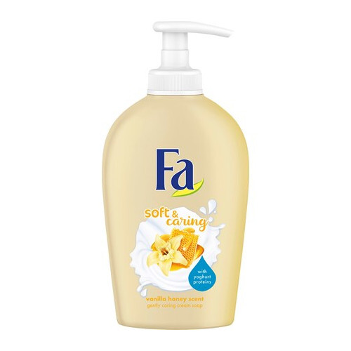 Fa Tekuté mydlo Soft   Caring Vanilla Honey Scent (Gently Caring Cream Soap) 250 ml