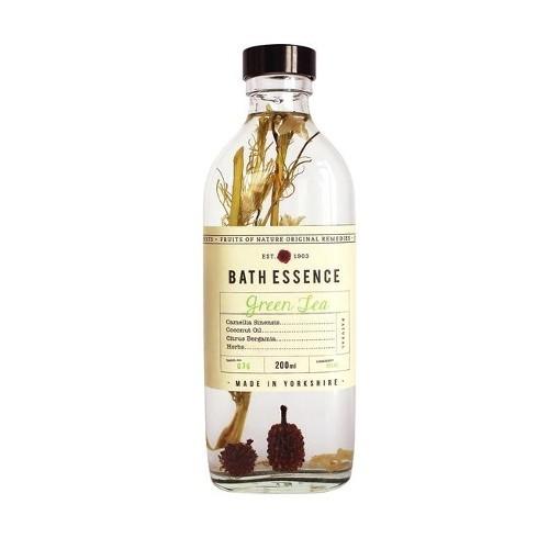 Fikkerts Koupelová olejová esence Zelený čaj (Bath Essence) 200 ml