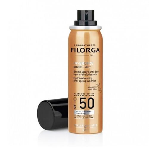 Filorga Pleťový opalovací sprej UV-Bronze SPF 50 (Hydra Refreshing Anti-Ageing Sun Mist) 60 ml