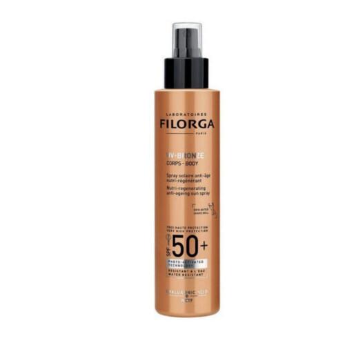 Filorga Regenerační ochranný sprej proti stárnutí pokožky SPF 50+ UV-Bronze (Anti-Ageing Sun Spray) 150 ml