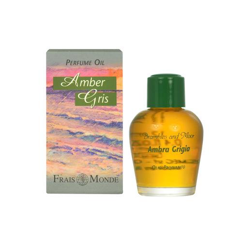 Frais Monde Parfémovaný olej Šedá ambra (Amber Gris Perfume Oil) 12 ml