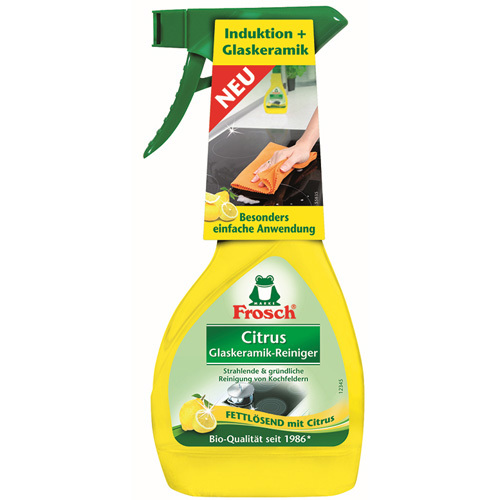 EKO Citronový čistič na indukční a sklokeramické desky 300 ml