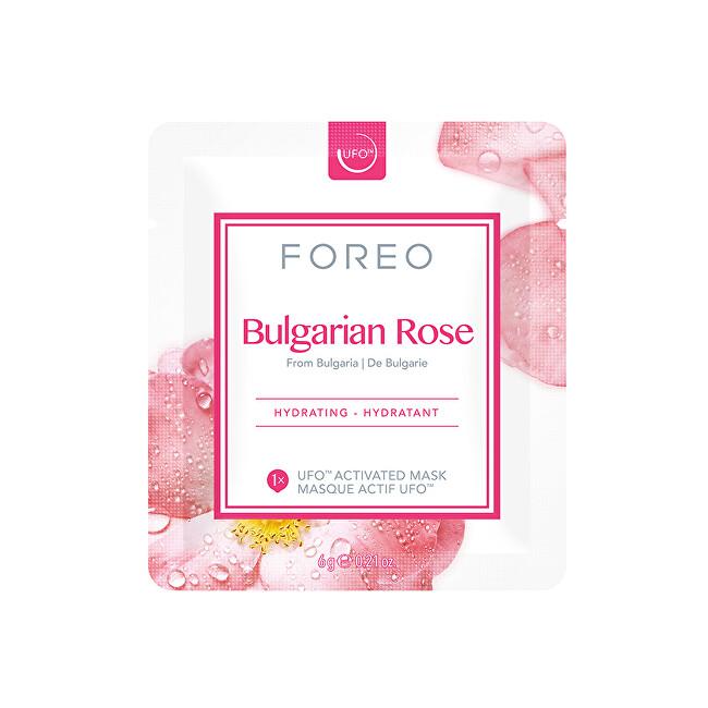 FOREO Hydratační pleťová maska Bulgarian Rose (Hydrating Mask) 6 x 6 g